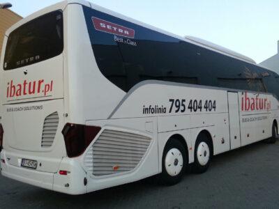 Autobusy i minibusy oklejone modelowaniem 3D Białystok