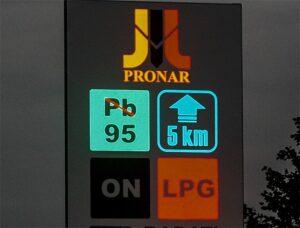 Pronar w reklamie przestrzennej Białystok