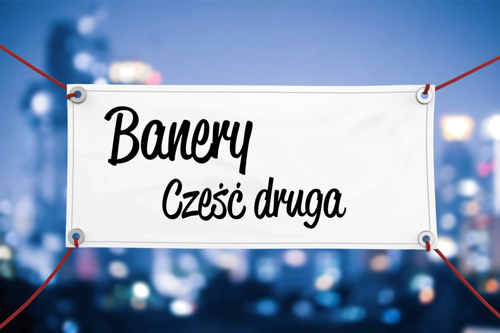 Baner reklamowy w formie szyldu - Białystok